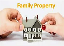 PARTITION OF FAMILY PROPERTY