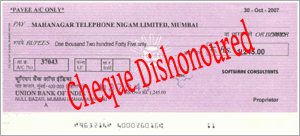 Cheque Bounce Case Lawyers in Delhi
